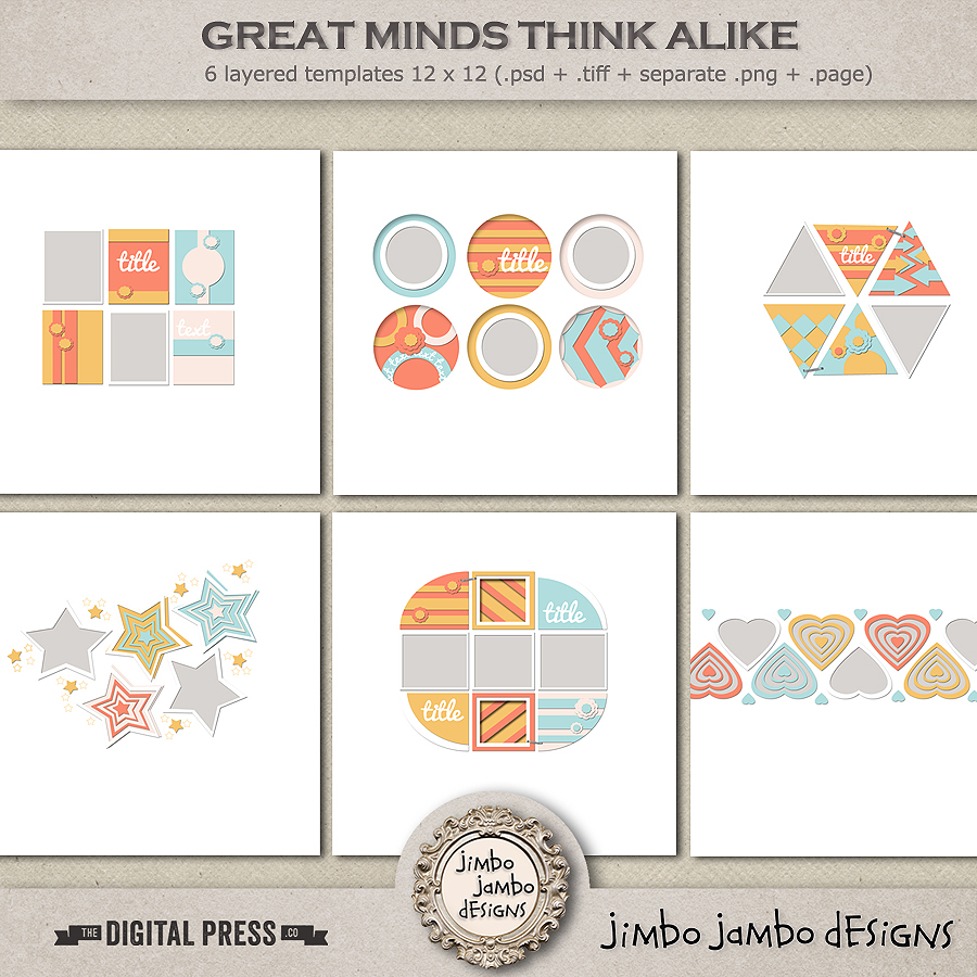 Great minds think alike | Templates