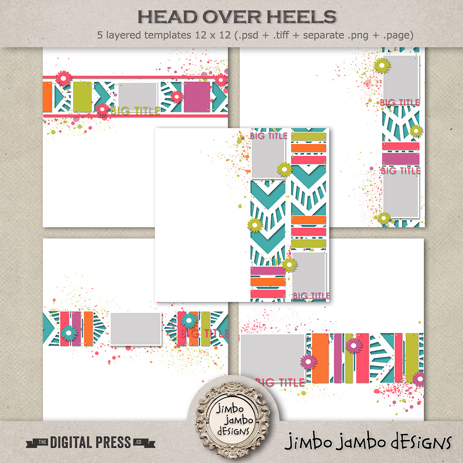 Head over heels | Templates