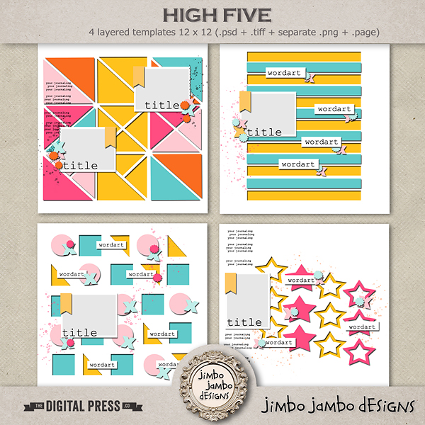 High five | Templates