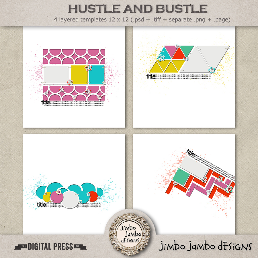 Hustle & bustle | Templates