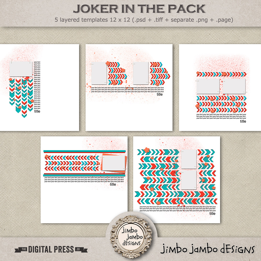 Joker in the pack | Templates