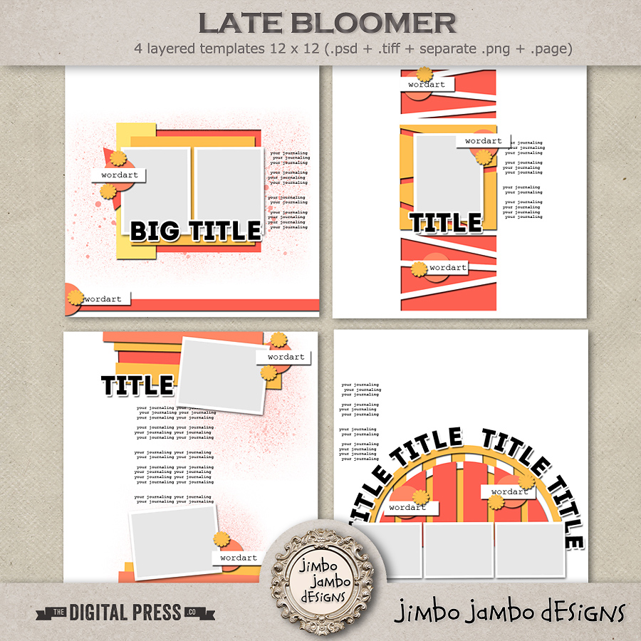 Late bloomer | Templates