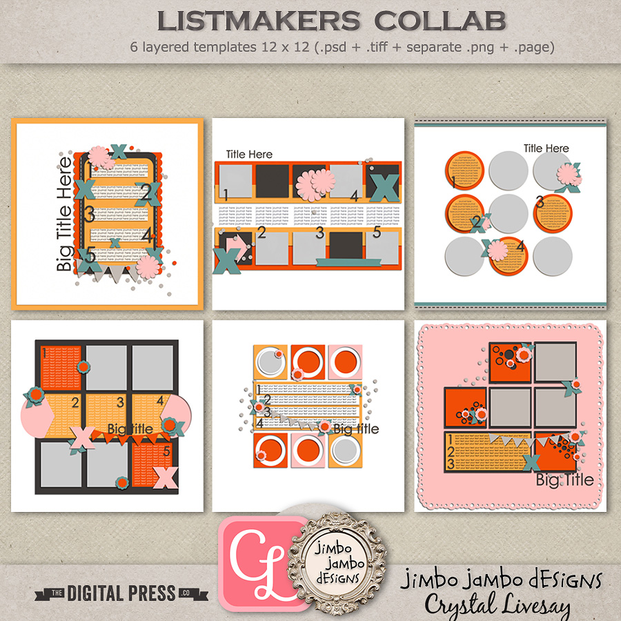 Listmakers collab   Templates