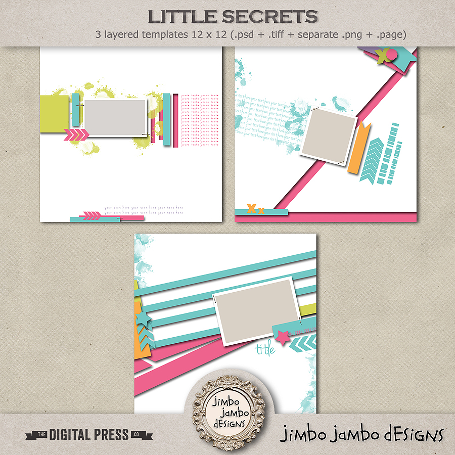 Little secrets | Templates