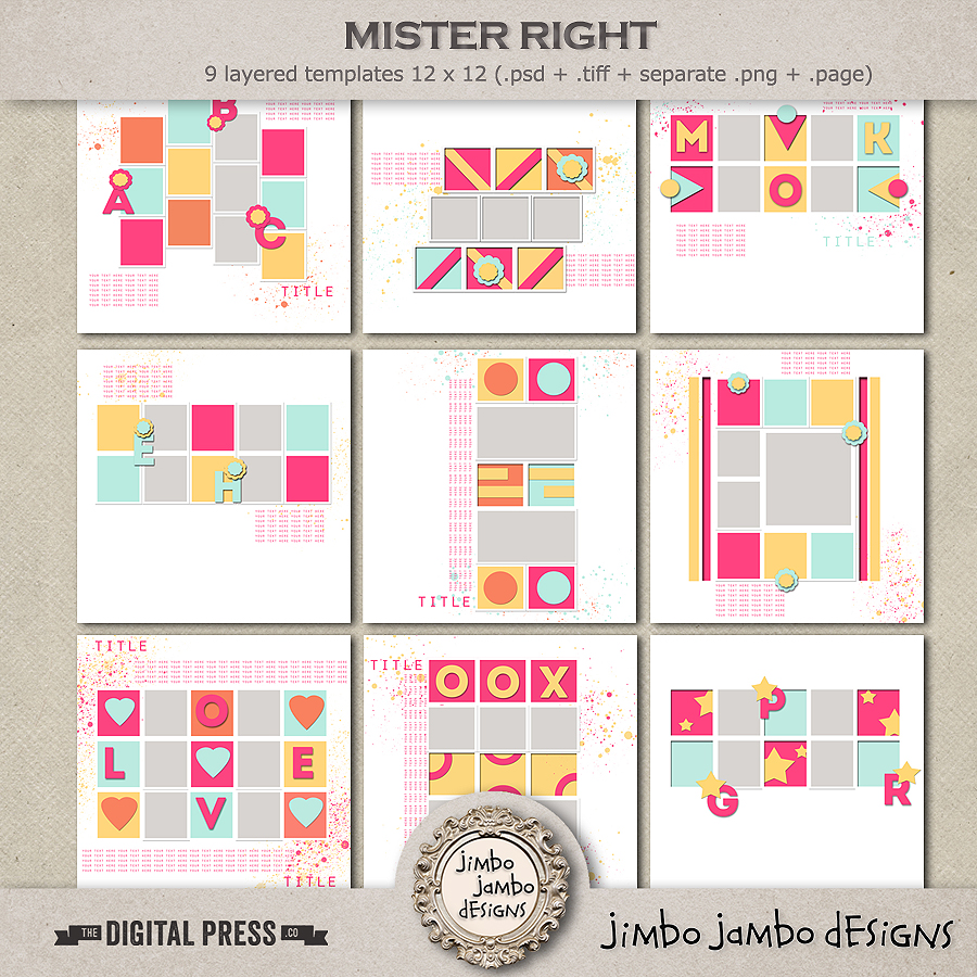 Mister right | Templates