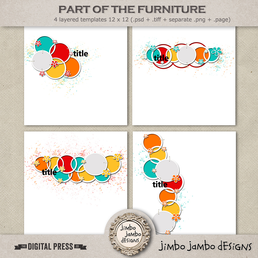 Part of the furniture | Templates