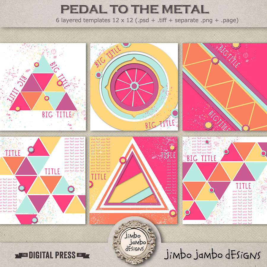 Pedal to the metal | Templates