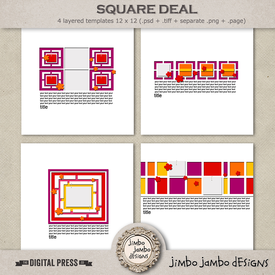 Square deal | Templates