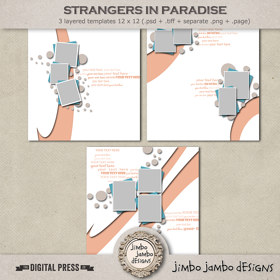 Strangers in paradise | Templates