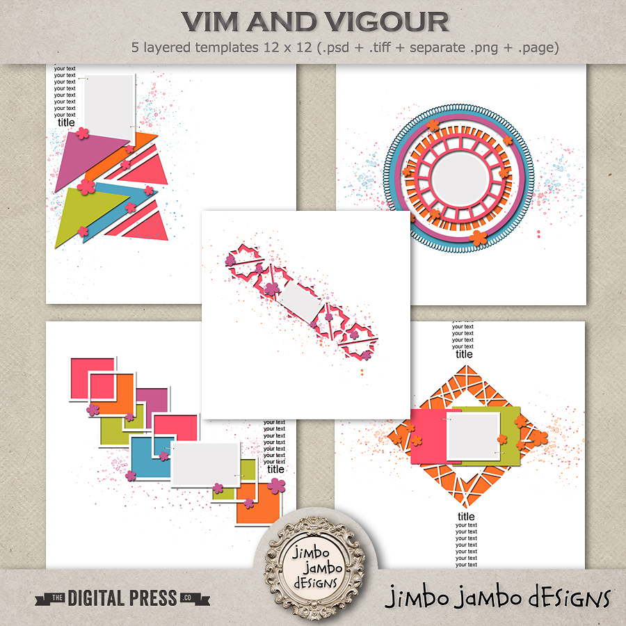 Vim and vigour | Templates