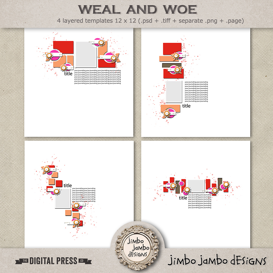 Weal and woe | Templates