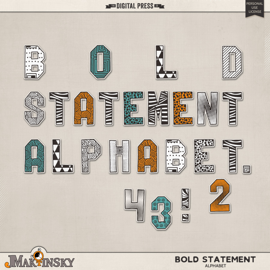Bold Statement | Alphabet