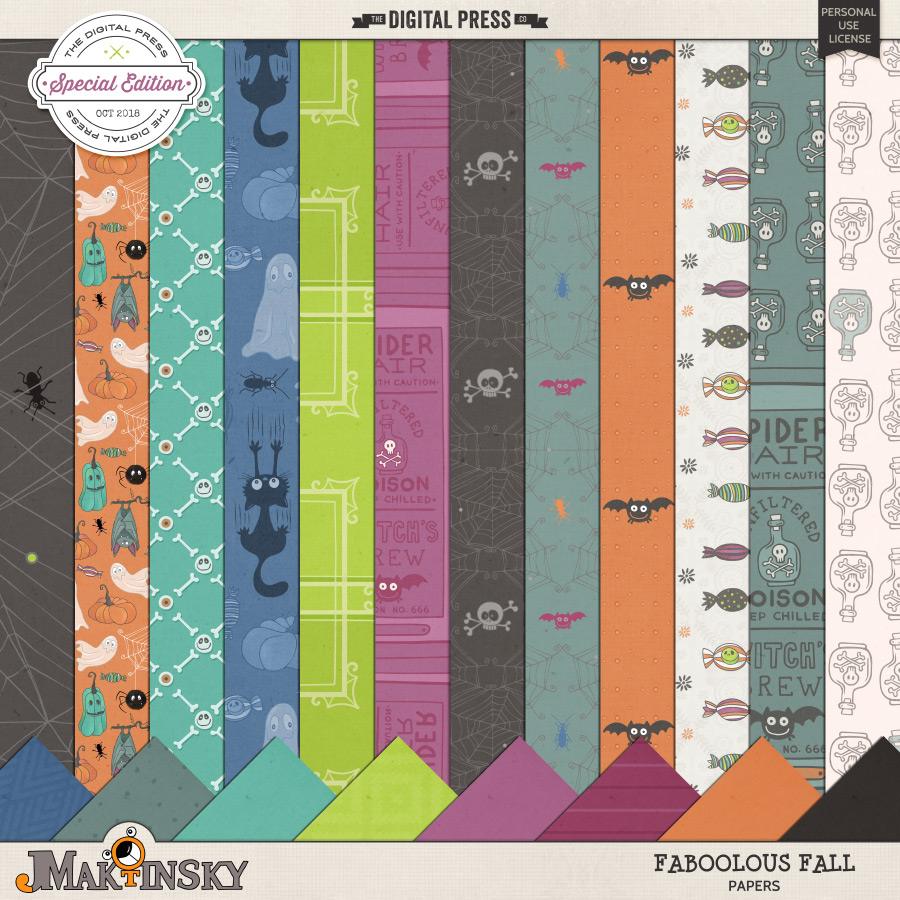 Faboolous Fall   Papers