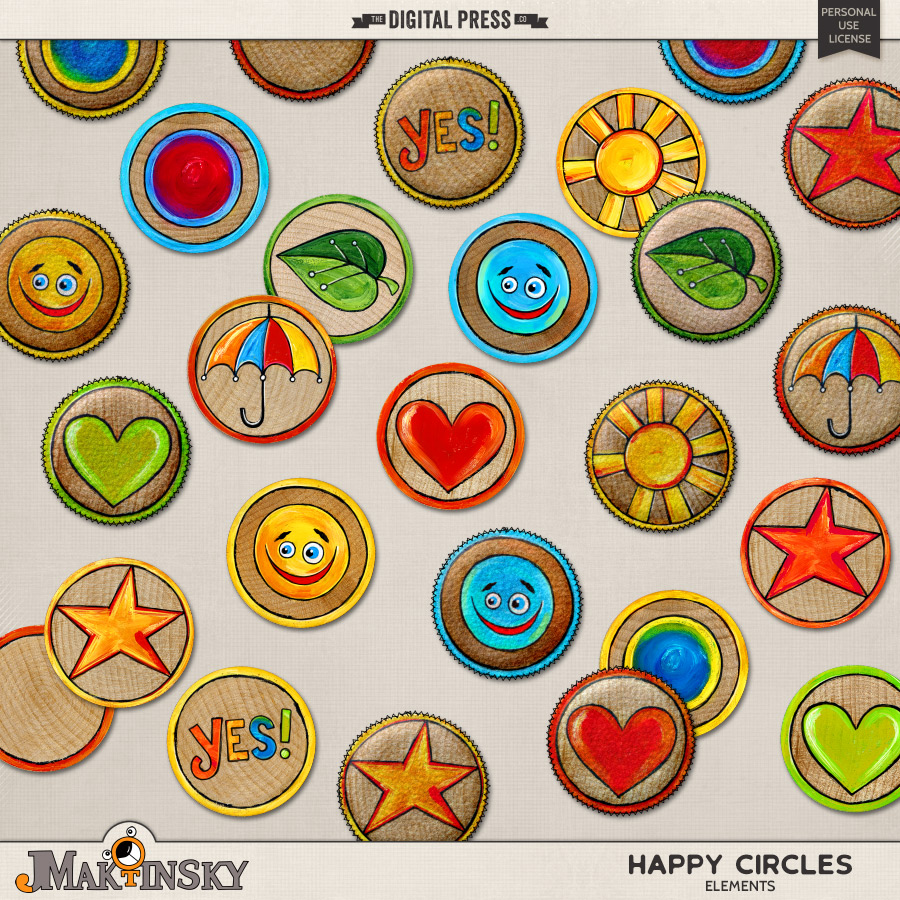 Happy Circles