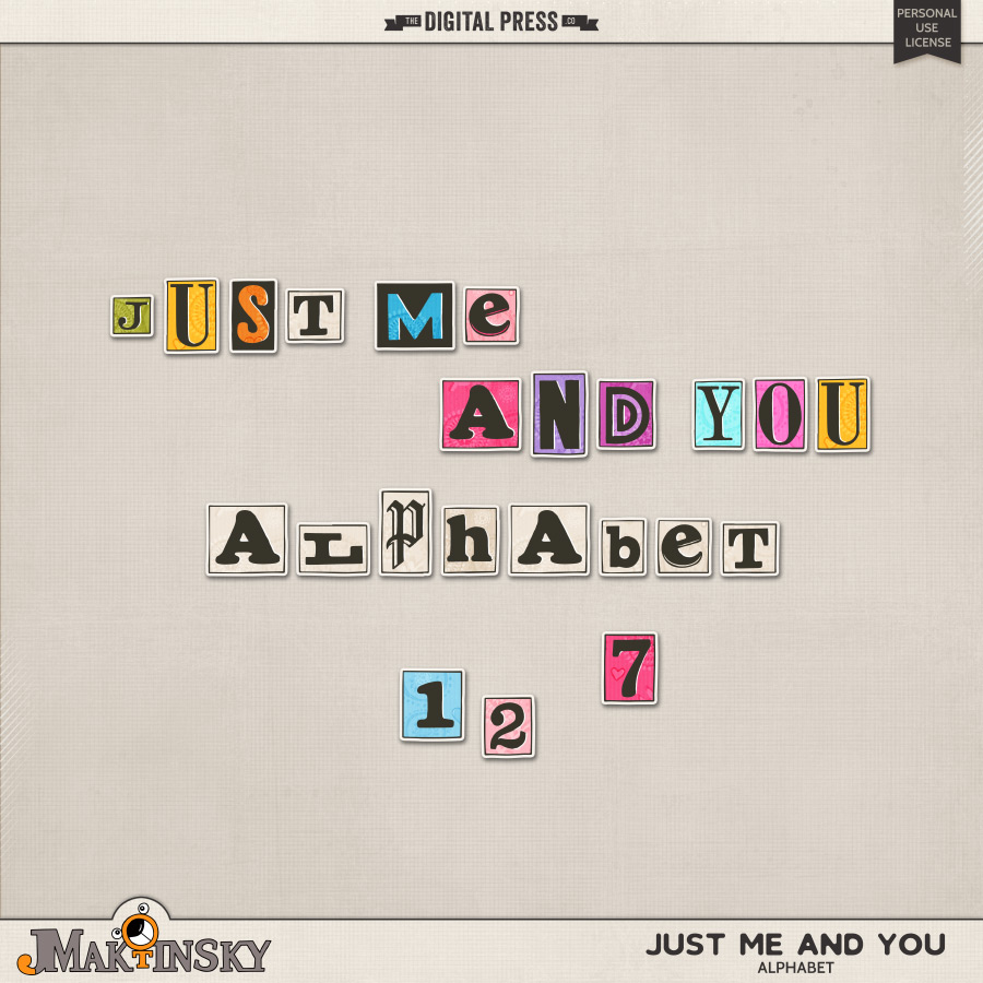 Just Me And You | Alphabet