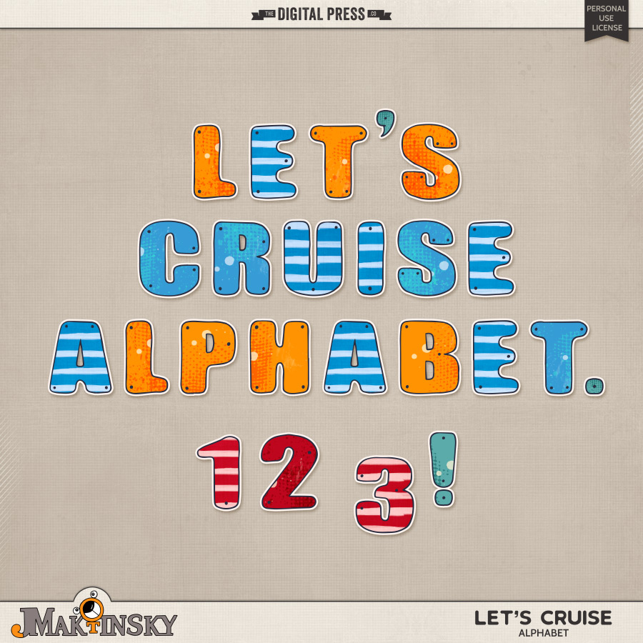 Let's Cruise | Alphabet