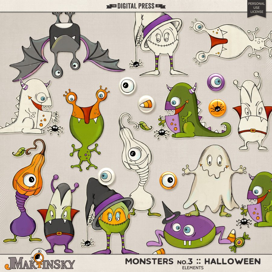 Monsters no.3 | Halloween