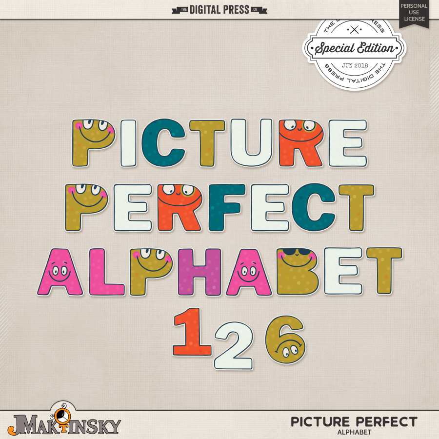 Picture Perfect | Alphabet