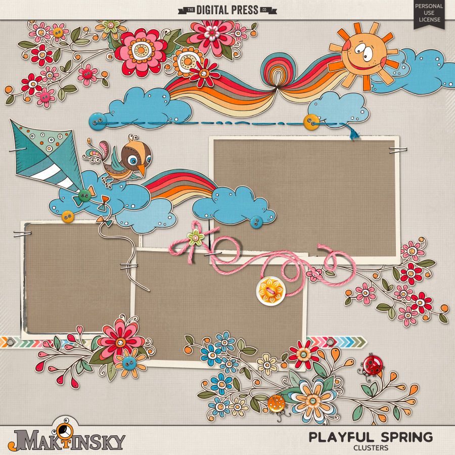 Playful Spring | Clusters