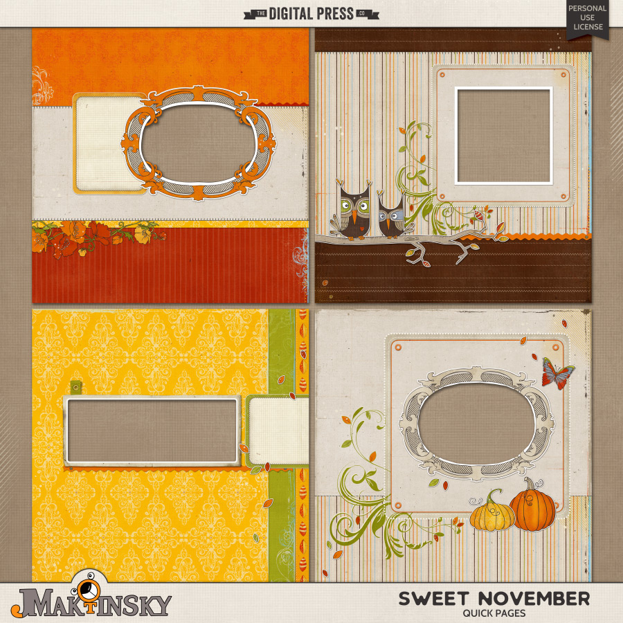 Sweet November   Quick Pages