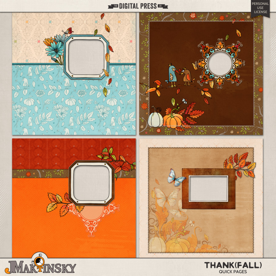 Thank{Fall}   Quick Pages