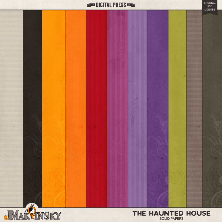 The Haunted House   Solid Papers