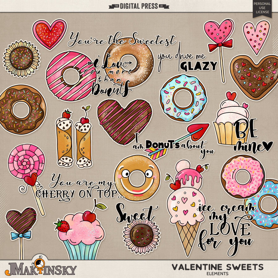 Valentine Sweets | Elements