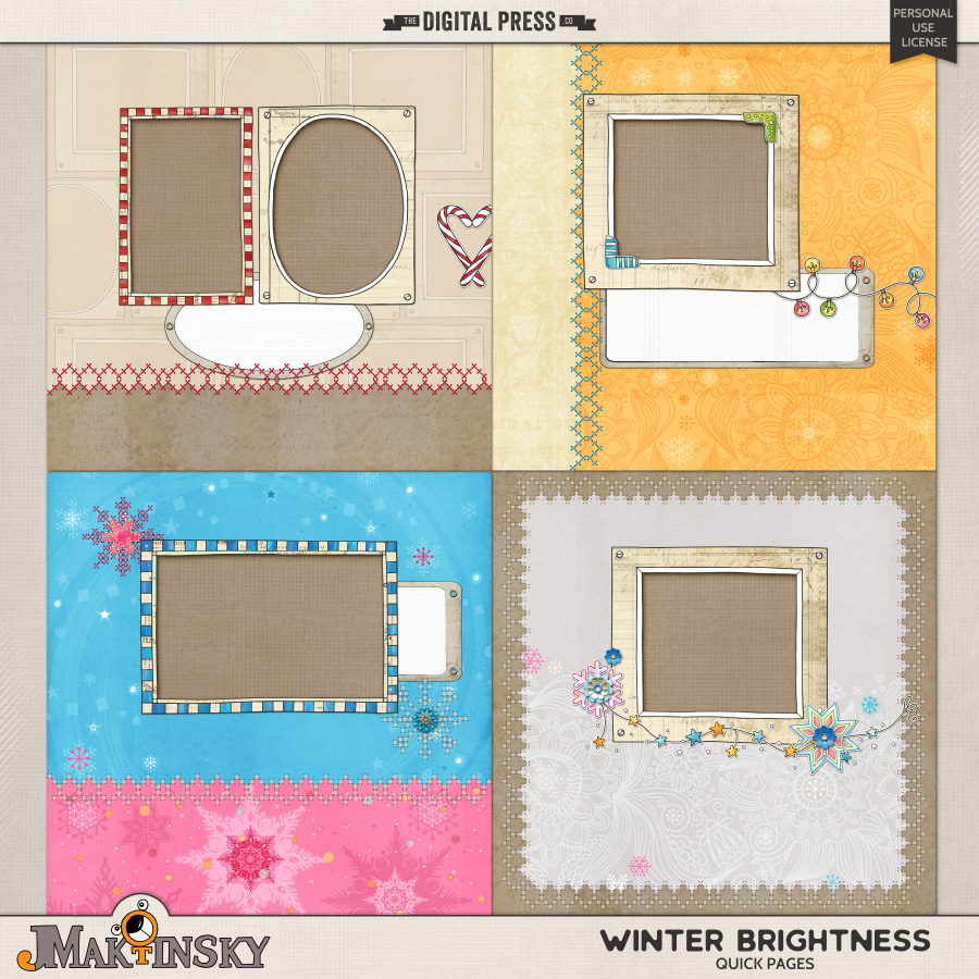 Winter Brightness | Quick Pages