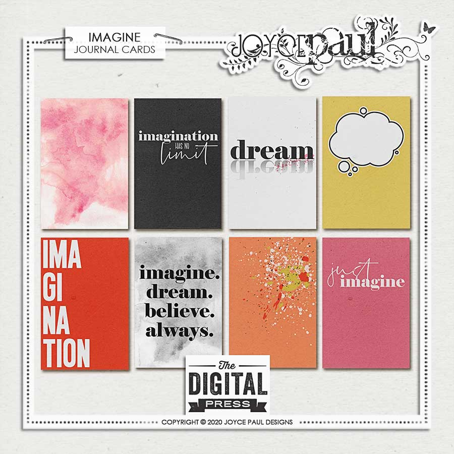 Imagine | Journal Cards