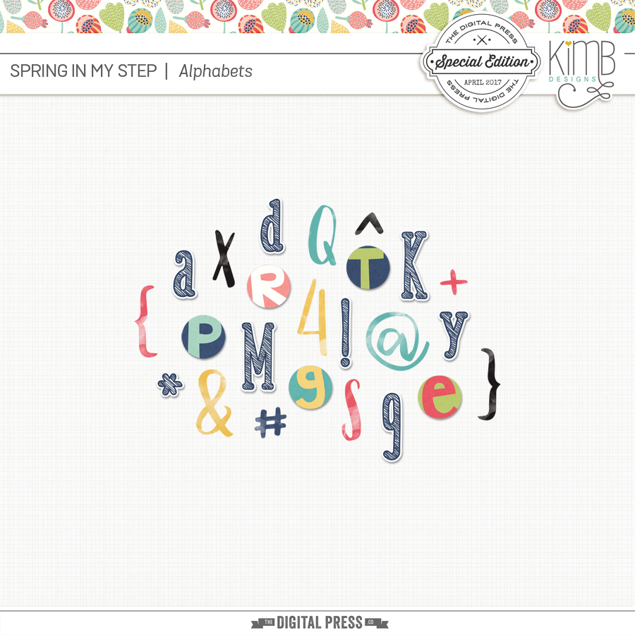 Spring in my Step : Alphabets