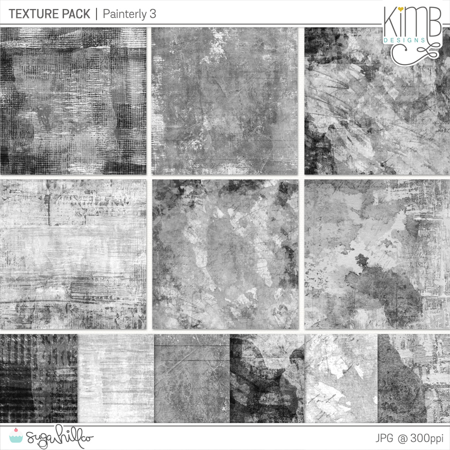 CU   Texture Pack : Painterly 3