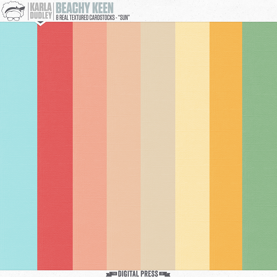 Beachy Keen | cardstocks [sun]