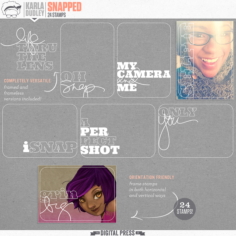 Snapped | frame stamps