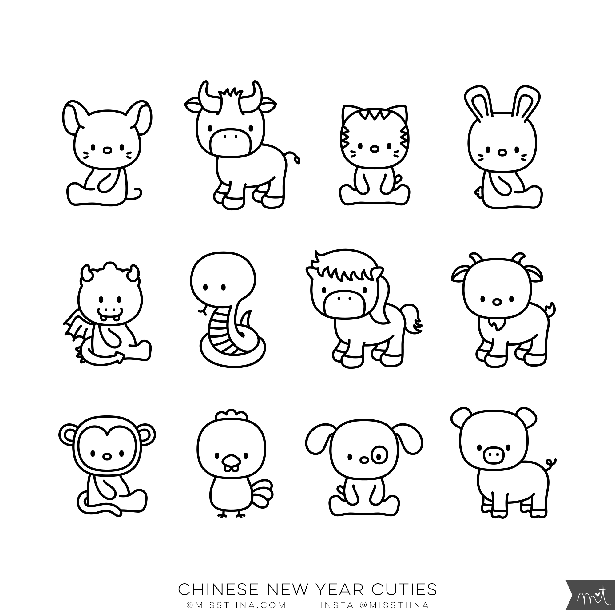 Chinese New Year Cuties (CU)