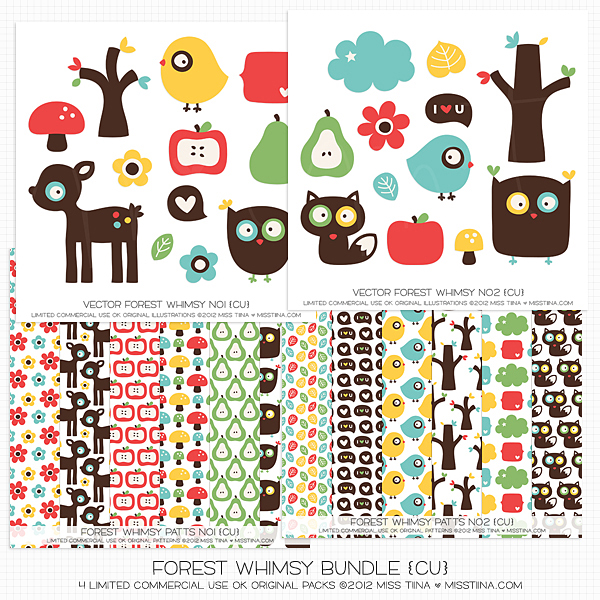 Bundle :: Forest Whimsy (CU)