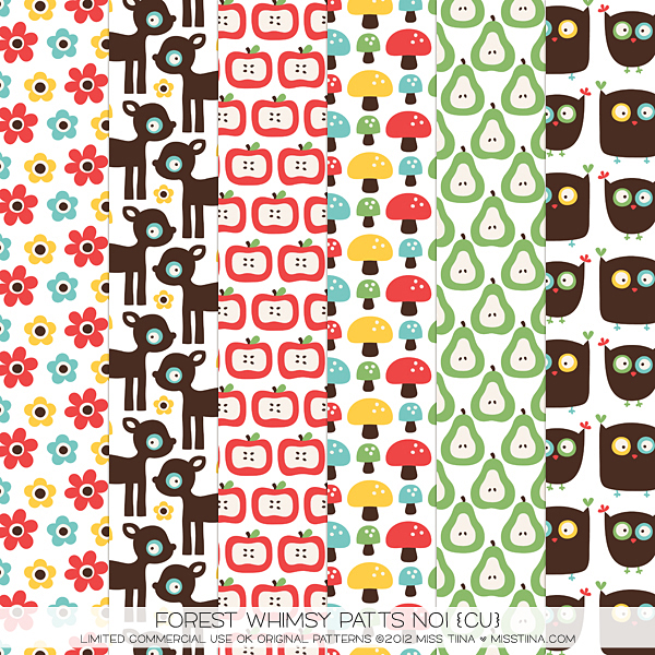 Forest Whimsy Patts No1 (CU)