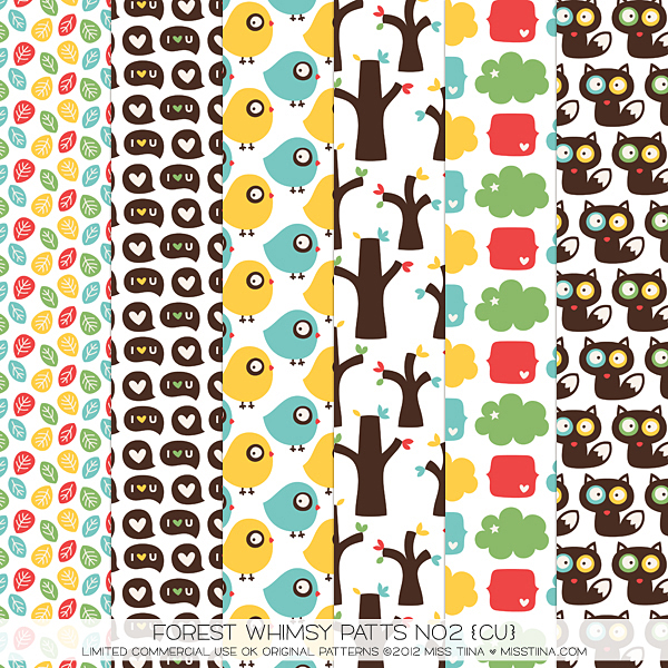 Forest Whimsy Patts No2 (CU)