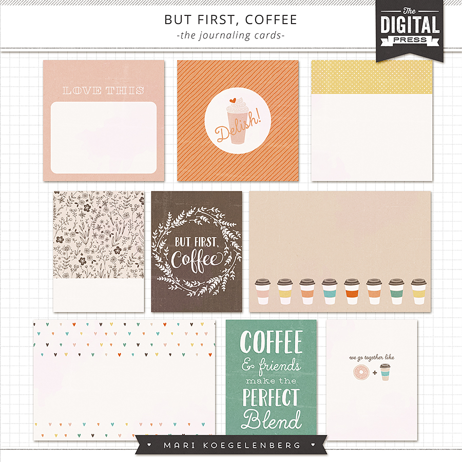 But First Coffee | The Journaling Cards