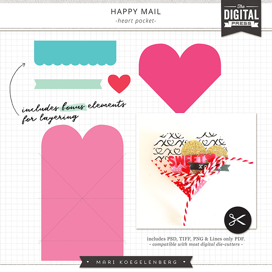 Happy Mail | Heart Pocket