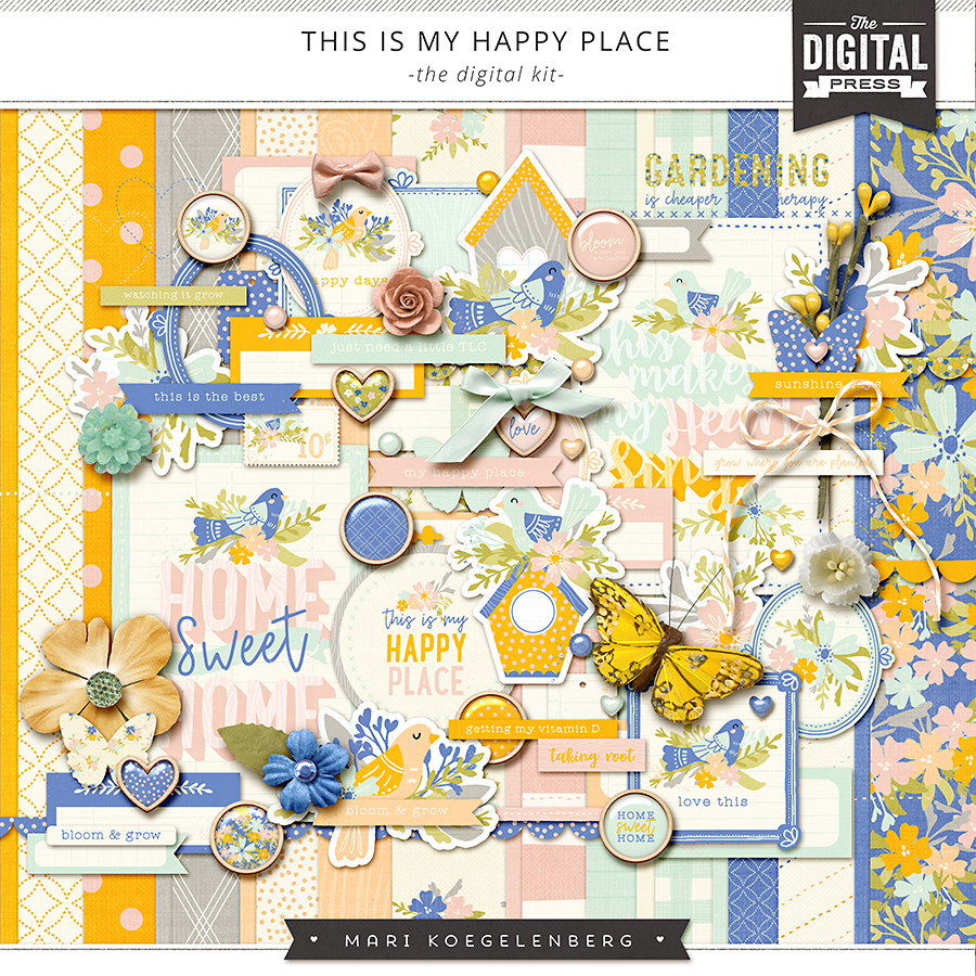 This is my Happy Place | The Digital Kit