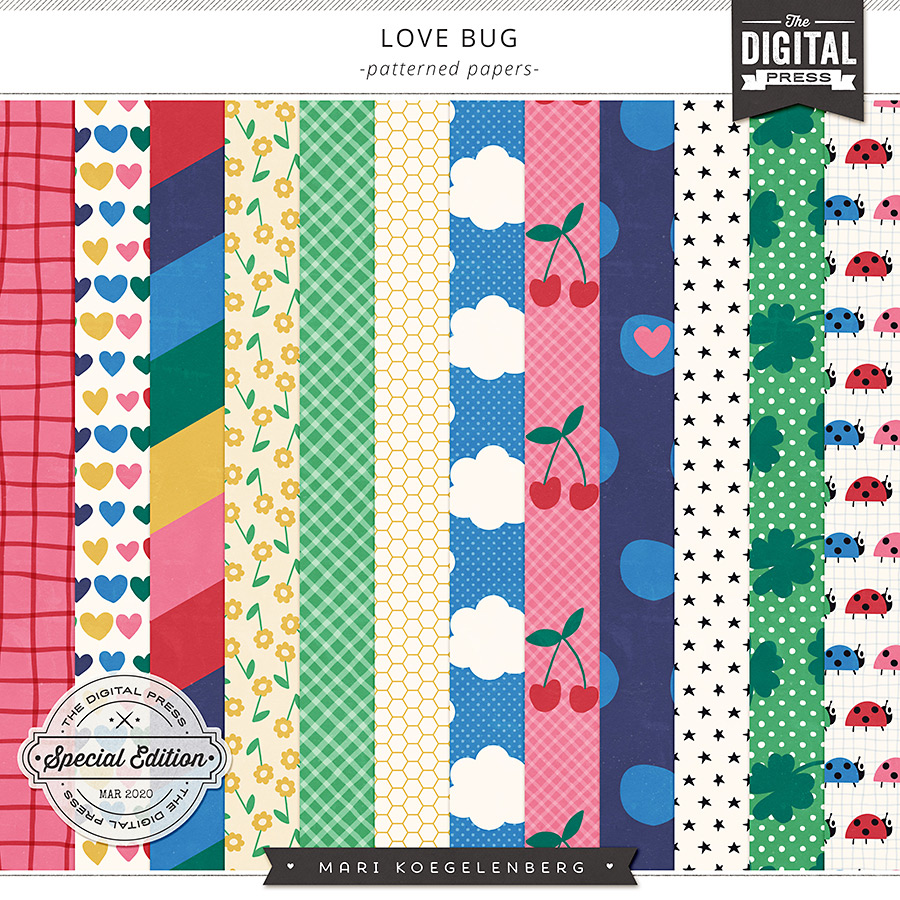 Love Bug   The Patterned Papers