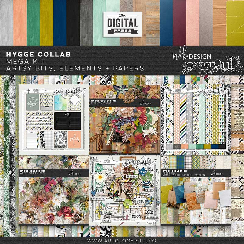 Hygge | Mega Collab Kit by Joyce Paul & NBK