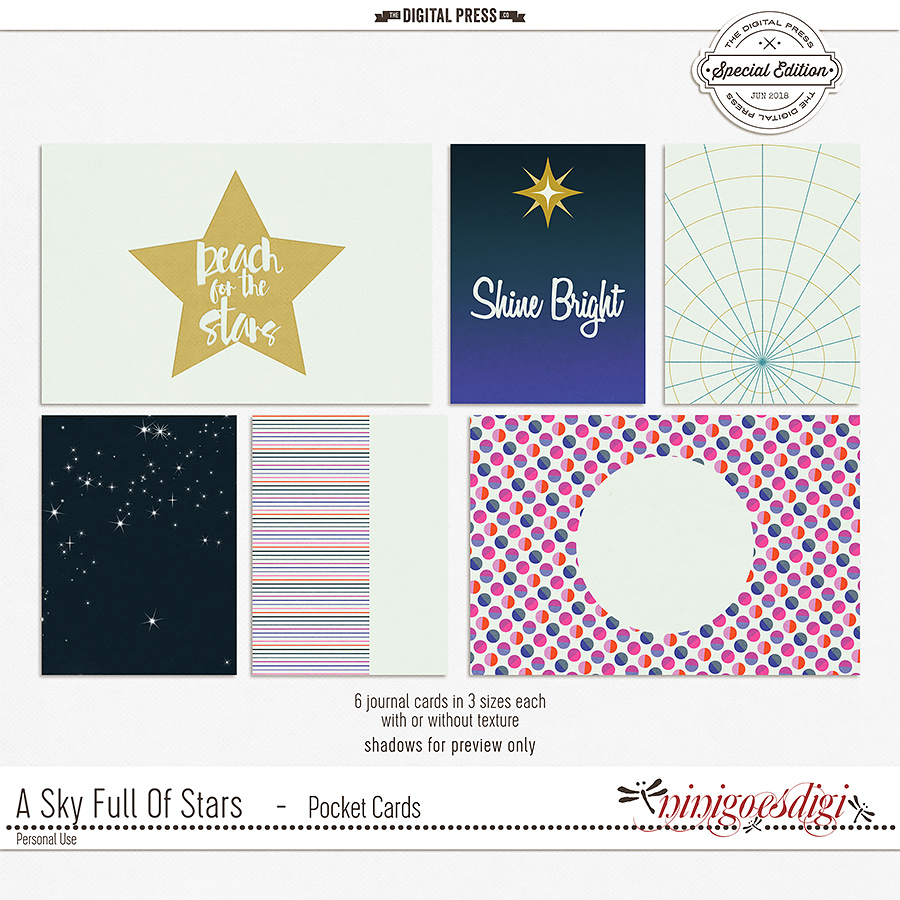 A Sky Full Of Stars | Pocket Cards