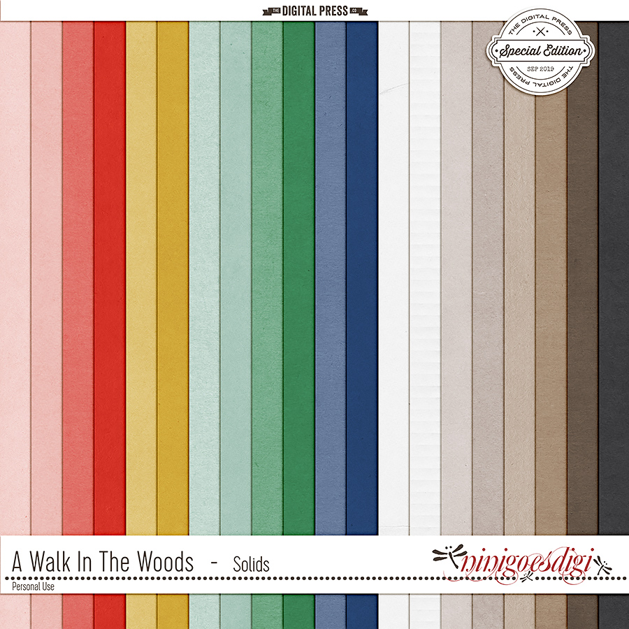 A Walk In the Woods | Solids