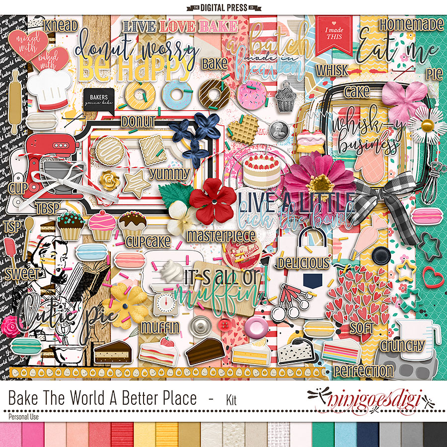 Bake The World A Better Place   Kit
