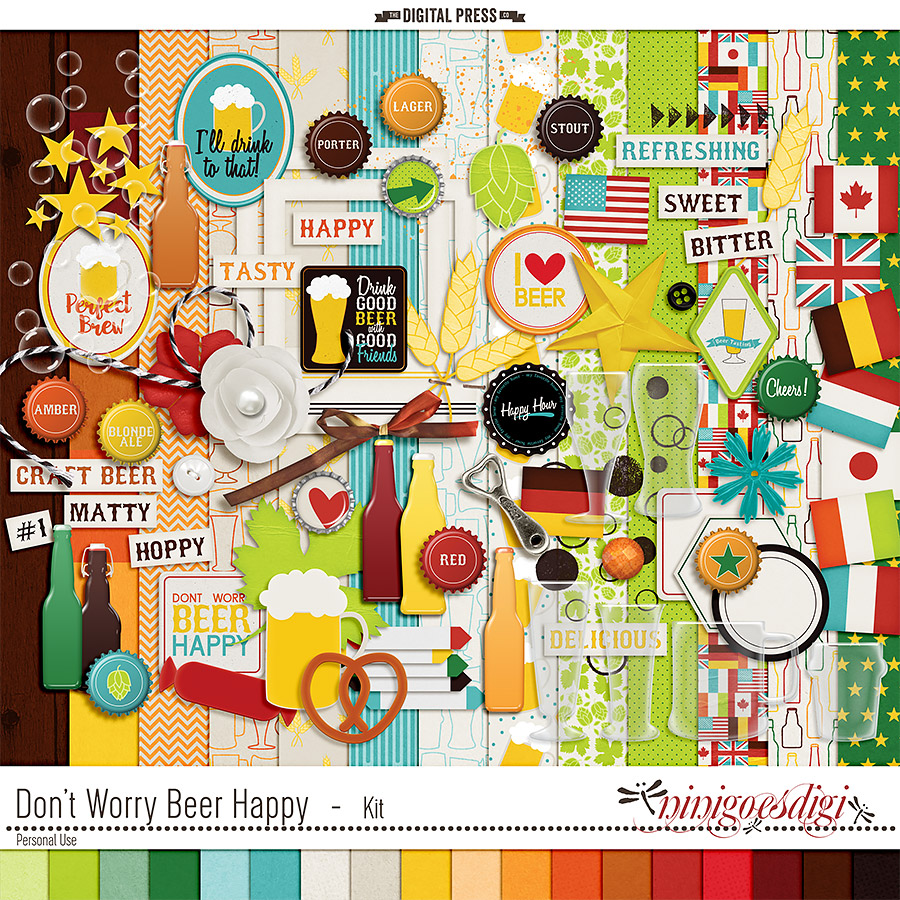 Don't Worry Beer Happy | Kit
