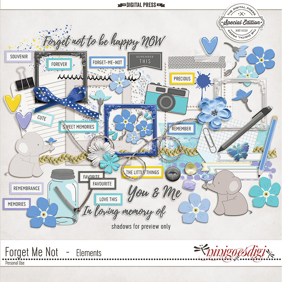 Forget Me Not   Elements