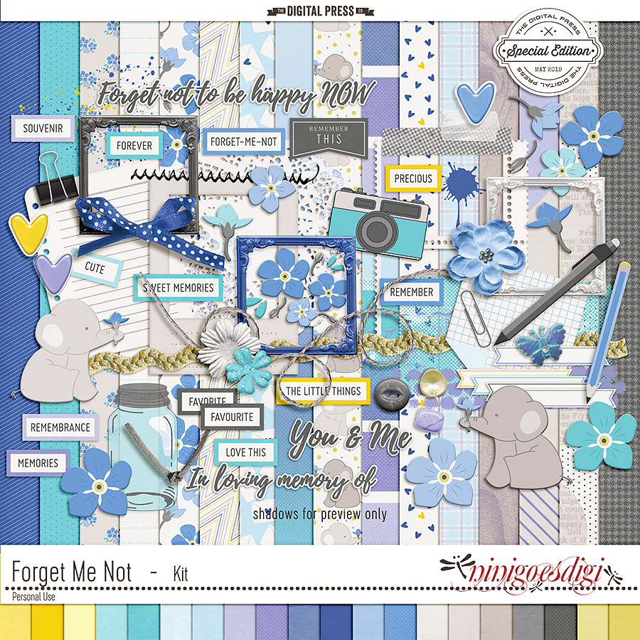 Forget Me Not | Kit