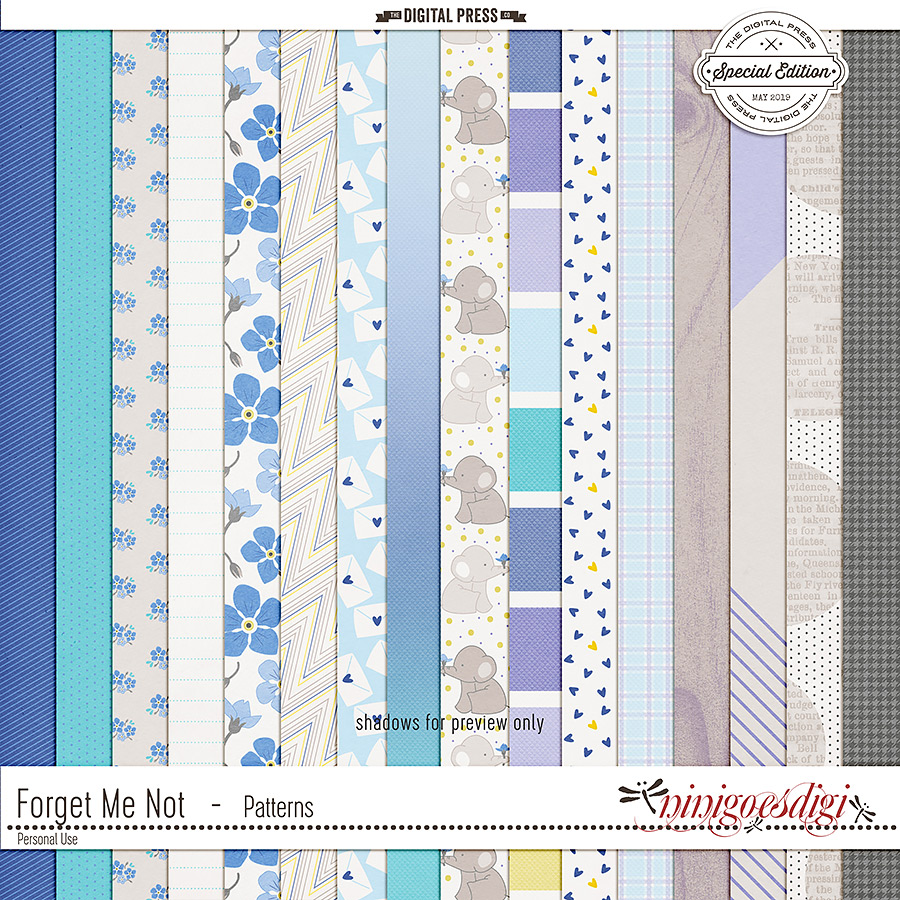Forget Me Not | Patterns