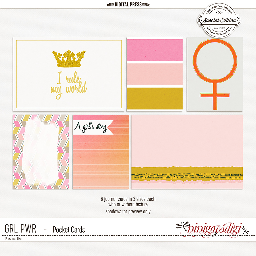 GRL PWR | Pocket Cards